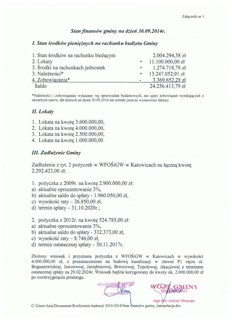 bilans 1