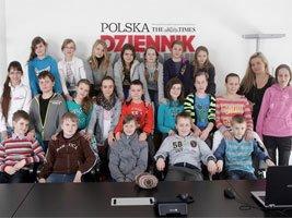 Uczniowie z SP nr 1 odwiedzili redakcję Dziennika Zachodniego