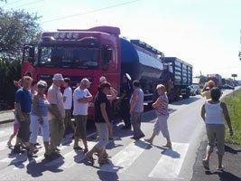 Kolejna blokada ulicy Wodzisławskiej w piątek 9 sierpnia