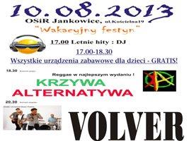Festyn rodzinny w Jankowicach 10 sierpnia