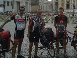 Na rowerze do Rzymu