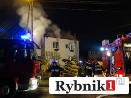 Pożar domu w Świerklanach