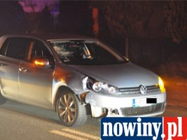 Kierowca potrącił pijanego pieszego na ul. 3 Maja
