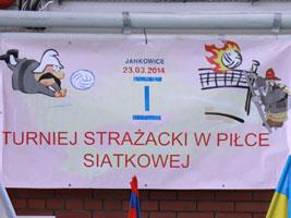 OSP Jankowice najlepsze na I Turnieju Strażaków w Piłce Siatkowej
