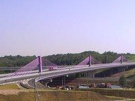 Most na A1 w Mszanie już otwarty !