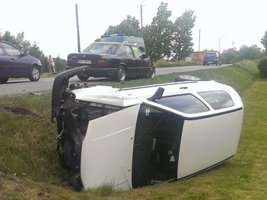 Wypadek na ulicy Wodzisławskiej