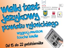 Druga edycja Wielkiego Testu Językowego Powiatu Rybnickiego