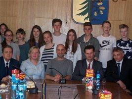Niemiecka wizyta w Urzędzie Gminy Świerklany