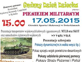 Gminny Dzień Dziecka połączony z piknikiem militarnym