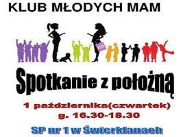 Klub Młodych Mam: spotkanie z położną