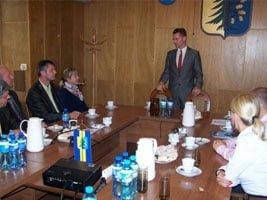 Czesi z wizytą w gminie Świerklany