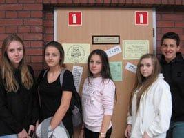 V Światowy Dzień Tabliczki Mnożenia w Jankowickim Gimnazjum