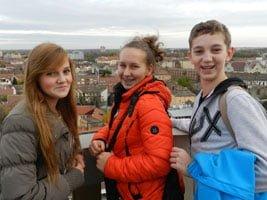 Młodzi Europejczycy z Gimnazjum w Świerklanach