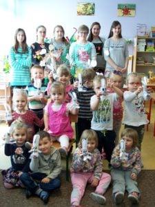 Wiosenne warsztaty dla przedszkolaków