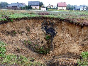 Geolodzy rozpoczęli badania zapadliska w Jankowicach