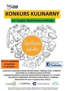Konkurs kulinarny na śląską tradycyjną potrawę