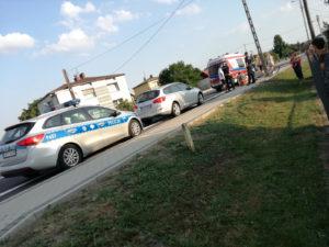 Rowerzysta uderzył w słup. Wydmuchał ponad 3 promile