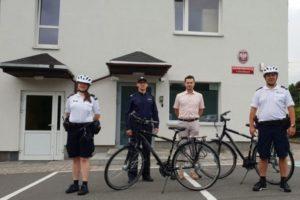 Policjanci w Świerklanach dostali nowe rowery